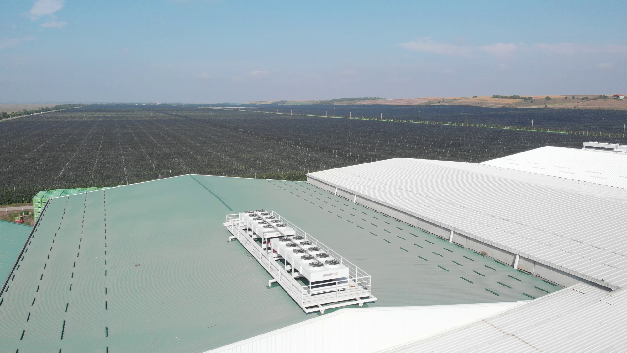 CONTROLLED ATMOSPHERE (CA) FRUIT STORAGE